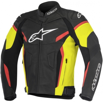 ALPINESTARS bunda GP PLUS R V2 black/yellow fluo/red fluo