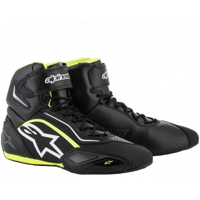 ALPINESTARS boty FASTER - 2 black/white/fluo yellow