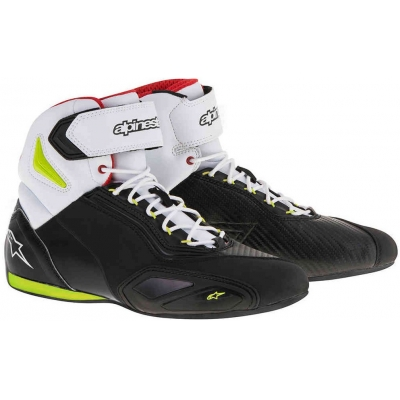 ALPINESTARS boty FASTER - 2 black/fluo yellow/red