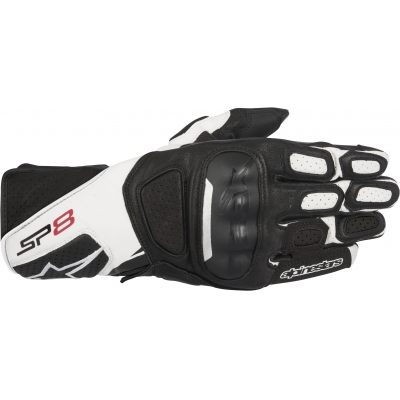 ALPINESTARS rukavice SP-8 v2 black / white