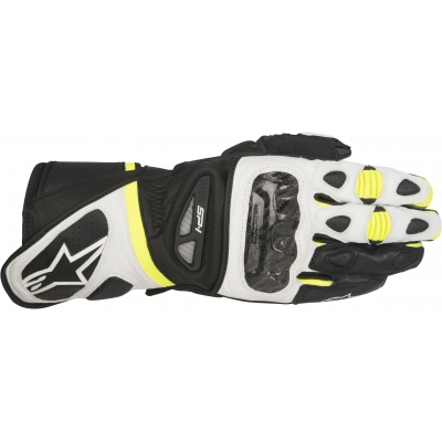 ALPINESTARS rukavice SP-1 black / white / fluo yellow