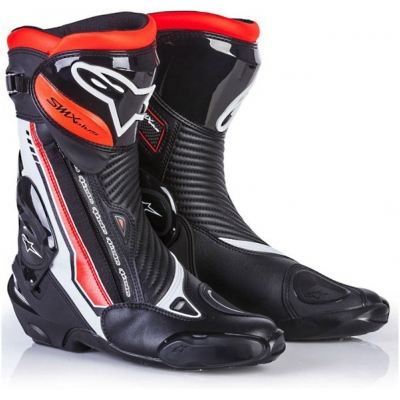 ALPINESTARS boty SMX PLUS LE black/red fluo/white