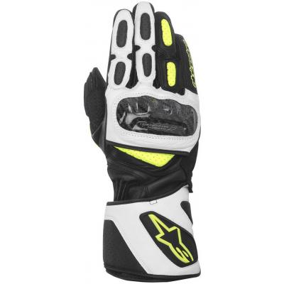 ALPINESTARS rukavice SP-2 black/white/fluo yellow