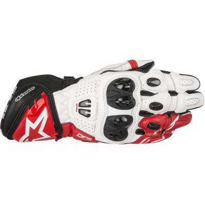 ALPINESTARS rukavice GP PRO R2 black/white/red