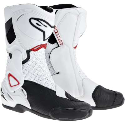 ALPINESTARS boty SMX-6 Vented wht/blk/red