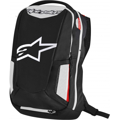ALPINESTARS batoh CITY HUNTER black/white/red