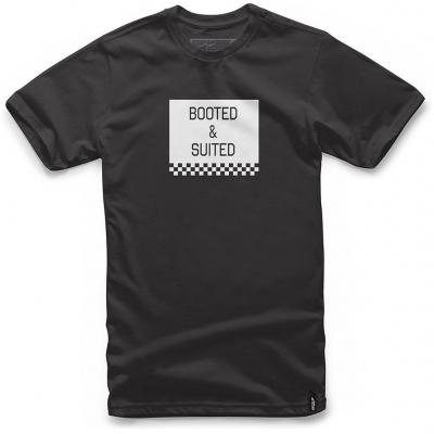 ALPINESTARS tričko BOOTED black