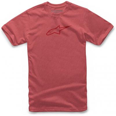 ALPINESTARS tričko AGELESS II red heather / red