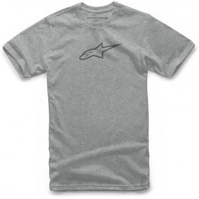 ALPINESTARS tričko AGELESS II grey heather / grey