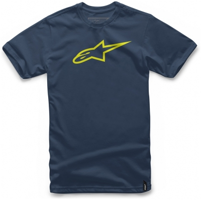 ALPINESTARS tričko AGELESS navy / hi vis yellow
