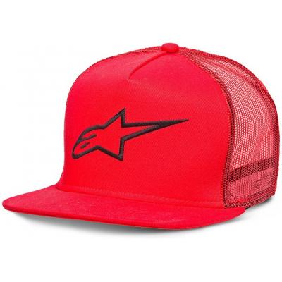 ALPINESTARS kšiltovka CORP TRUCKER red
