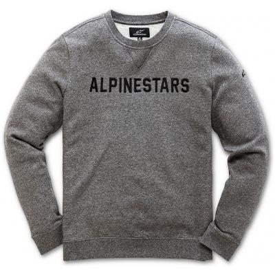 ALPINESTARS mikina DISTANCE FLEECE grey heather