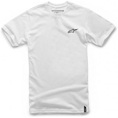 ALPINESTARS tričko NEU AGELESS white