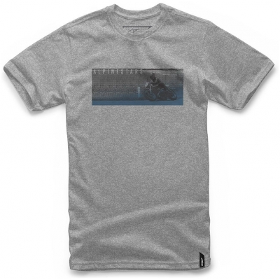 ALPINESTARS tričko RR grey heather