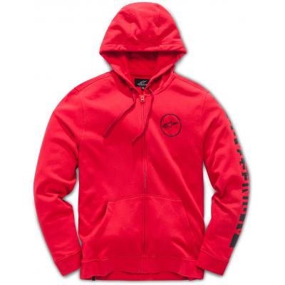 ALPINESTARS mikina CARRERA FLEECE red