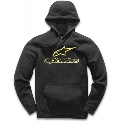 ALPINESTARS mikina ALWAYS FLEECE black/yellow