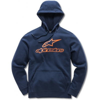 ALPINESTARS mikina ALWAYS FLEECE navy/orange