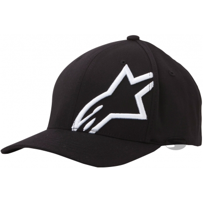 ALPINESTARS kšiltovka Corp shift 2 black/white