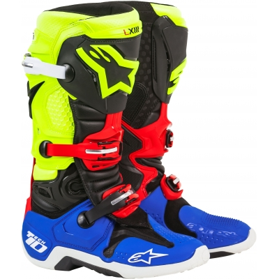 ALPINESTARS boty TECH 10 blue/red/yellow