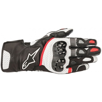ALPINESTARS rukavice SP-2 v2 black/white/red