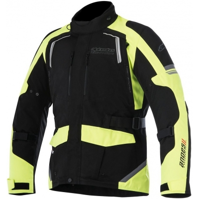 ALPINESTARS bunda ANDES V2 DRYSTAR black/fluo yellow