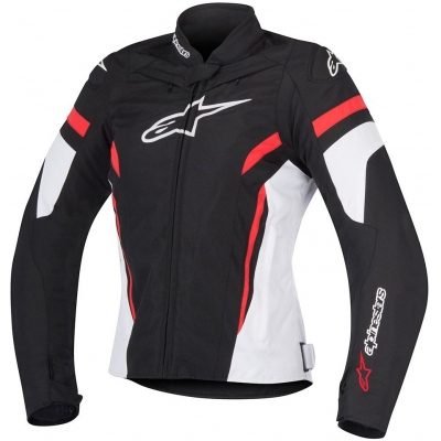 ALPINESTARS bunda STELLA T-GP PLUS R v2 dámská blk/wht/red