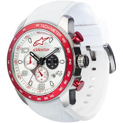 ALPINESTARS hodinky TECH MULTIFUNCTION white/red