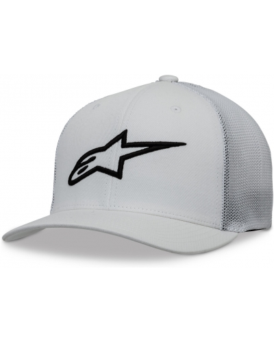 ALPINESTARS kšiltovka AGELESS STRETCH white/black