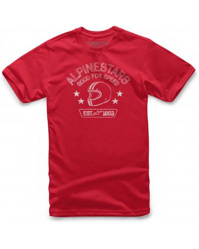 ALPINESTARS tričko SCHOOL red