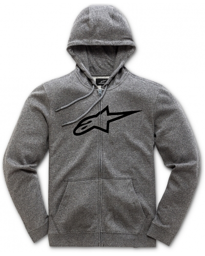 ALPINESTARS mikina AGELESS II grey heather/black