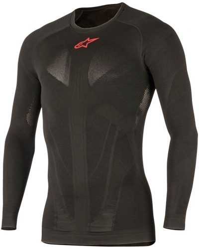 ALPINESTARS termo tričko TECH SUMMER LS black/red