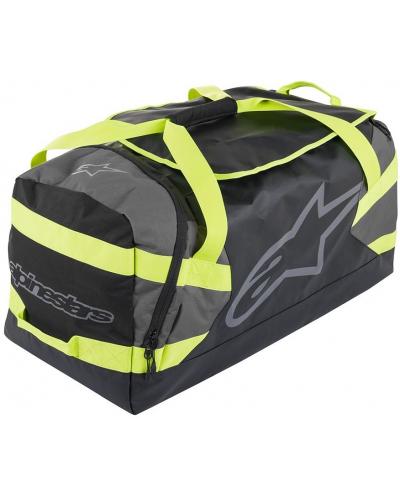 ALPINESTARS cestovní taška GOANNA DUFFLE black/anthracite/yellow fluo