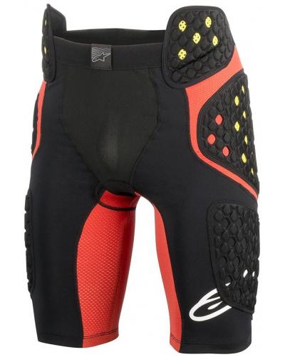ALPINESTARS chráničové šortky SEQUENCE PRO black/red/fluo-yellow