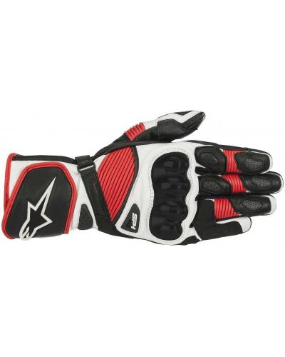 ALPINESTARS rukavice SP-1 V2 black/white/red