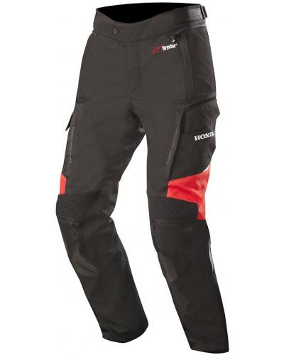 ALPINESTARS kalhoty ANDES V2 DRYSTAR Honda black/red