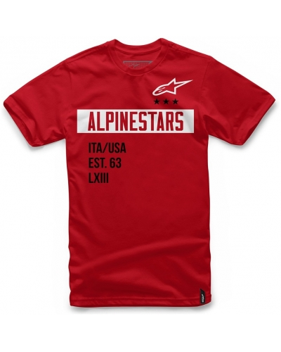 ALPINESTARS triko VALIANT red