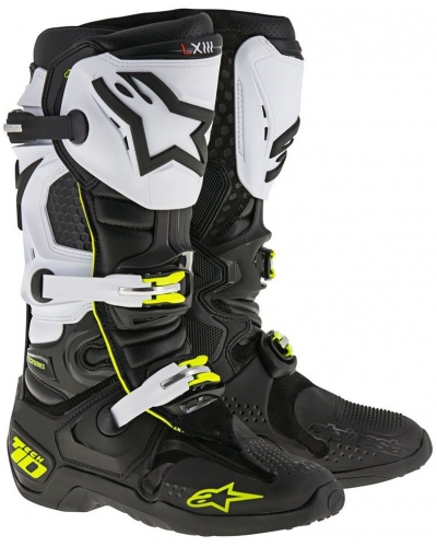 ALPINESTARS boty TECH 10 black/white
