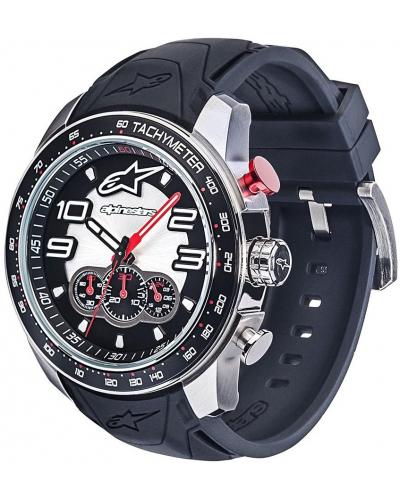 ALPINESTARS hodinky TECH CHRONO steel/black/steel