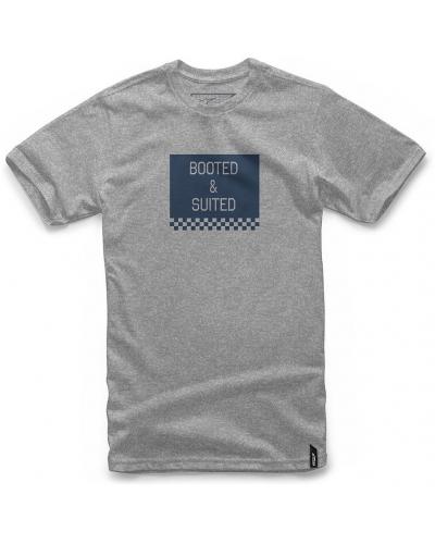 ALPINESTARS triko BOOTED grey heather