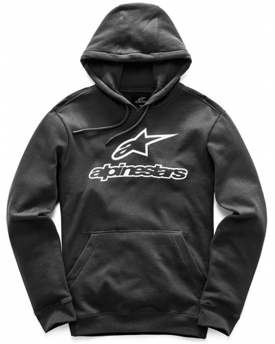 ALPINESTARS mikina ALWAYS FLEECE black/white