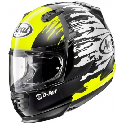 ARAI prilba REBEL splash yellow