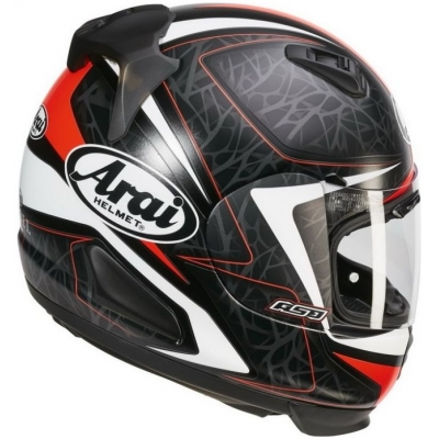 ARAI prilba REBEL Sting red mat