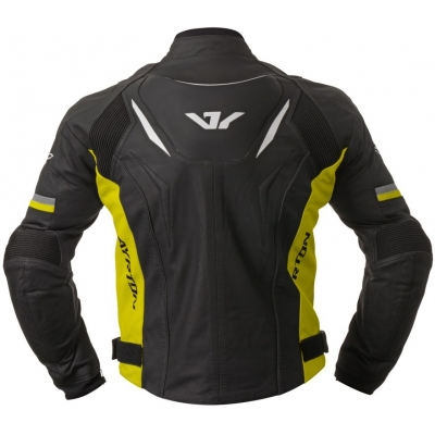 AYRTON bunda EVOLINE black/fluo yellow