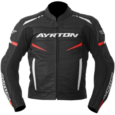 AYRTON bunda RAPTOR black/fluo red/white