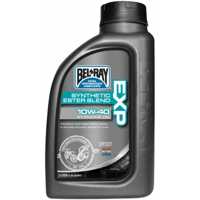 BELRAY motorový olej EXP Synthetic Ester Blend 4T 10W40 1L