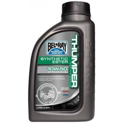 BELRAY motorový olej THUMPER RACING WORKS Synthetic Ester 4T 10W-50