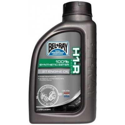 BELRAY motorový olej H1-R RACING 100% Synthetic Ester 2T 1L