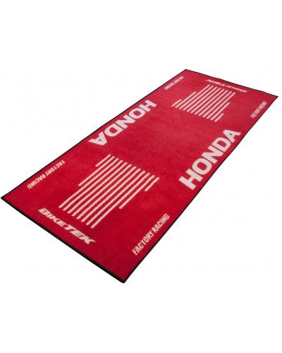 BIKE-IT garážový koberec BIKETEK SERIES 3 Honda red