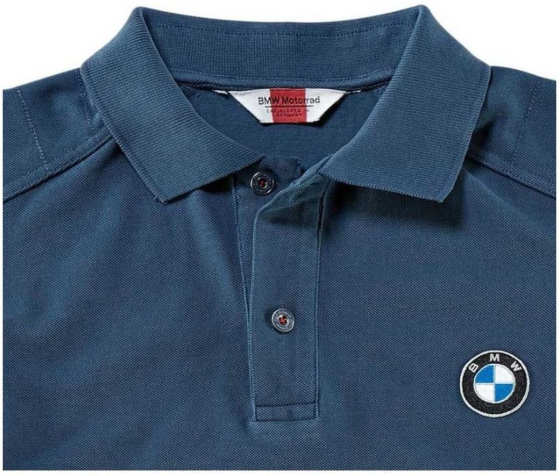 BMW polo triko LOGO dámské blue  155cc7ec03