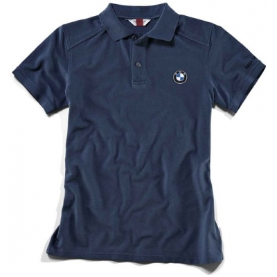 BMW polo triko LOGO blue